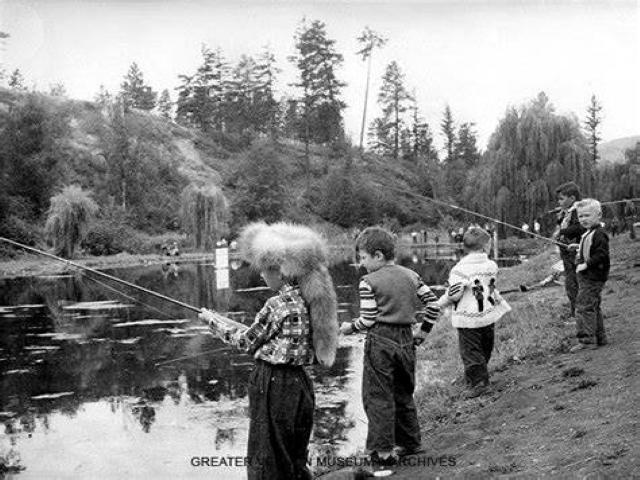 Historic Polson Park Pond