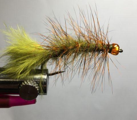 Pumpkin Head Woolly Bugger