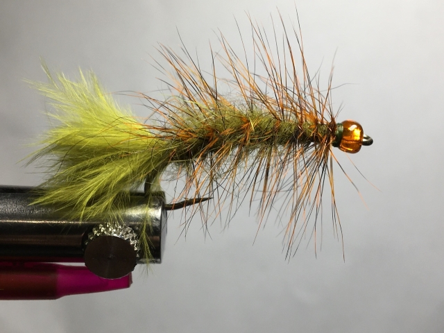 Pumpkin Head Woolly Bugger